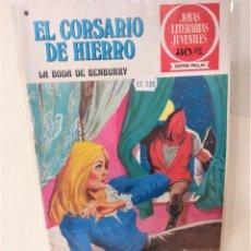Tebeos: EL CORSARIO DE HIERRO. SERIE ROJA Nº41. LA BODA DE BEMBURY. Lote 293663918