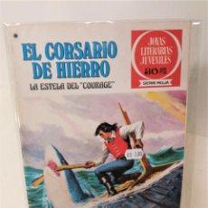 Tebeos: EL CORSARIO DE HIERRO. SERIE ROJA Nº50.LA ESTELA DEL COURAGE. Lote 293664473