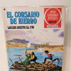 Tebeos: EL CORSARIO DE HIERRO. SERIE ROJA Nº45.LUCHA HASTA EL FIN. Lote 293664918