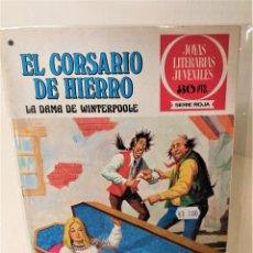 Tebeos: EL CORSARIO DE HIERRO. SERIE ROJA Nº43. LA DAMA DE WINTERPOOLE. Lote 293665158