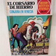Tebeos: EL CORSARIO DE HIERRO. SERIE ROJA Nº65. CONJURA EN VENECIA. Lote 293716523