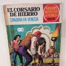 Tebeos: EL CORSARIO DE HIERRO. SERIE ROJA Nº65. CONJURA EN VENECIA. Lote 293716963