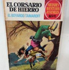 Tebeos: EL CORSARIO DE HIERRO. SERIE ROJA Nº14. EL BOYARDO TAMAROFF. Lote 293717323