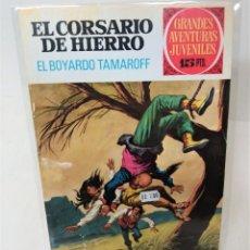 Tebeos: EL CORSARIO DE HIERRO. SERIE ROJA Nº14. EL BOYARDO TAMAROFF. Lote 293718053