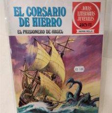 Tebeos: EL CORSARIO DE HIERRO. SERIE ROJA Nº19. EL PRISIONERO DE ARGEL. Lote 293720123