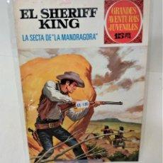 Tebeos: GRANDES AVENTURAS JUVENILES. EL SHERIFF KING. Nº30. LA SECTA DE LA MANDRÁGORA. Lote 293722683