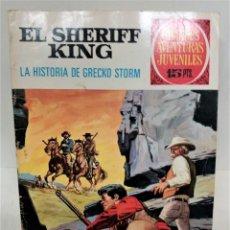 Tebeos: GRANDES AVENTURAS JUVENILES. EL SHERIFF KING. Nº20. LA HISTORIA DE GRECKO STORM. Lote 293724068