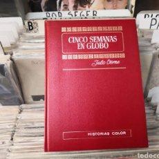 Tebeos: HISTORIAS COLOR, CINCO SEMANAS EN GLOBO, JULIO VERNE, TOMO 8. Lote 293737493