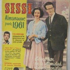 Tebeos: SISSI - REVISTA JUVENIL FEMENINA - ALMANAQUE PARA 1961 - COMIC. Lote 293744638