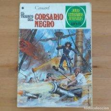 Tebeos: EL TRIUNFO DEL CORSARIO NEGRO. CASSAREL. JOYAS LITERARIAS JUVENILES NUM 185. Lote 293773218