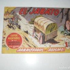 Tebeos: EL JABATO 135.APAISADO ORIGINAL,AÑO 1958.. Lote 293797353