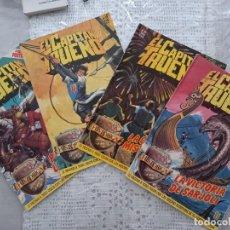 Tebeos: LOTE 4 CAPITÁN TRUENO HISTÓRICA EDICIONES B 1987. Lote 293878353