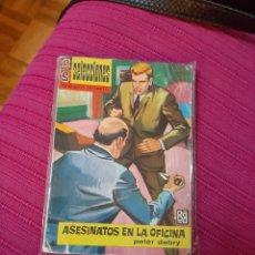 Tebeos: ASESINATOS EN LA OFICINA SERVICIO SECRETO DE PETER DEBRY NUM28 EDITORIAL BRUGUERA. Lote 293939588