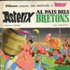 Tebeos: ASTERIX AL PAIS DELS BRETONS. ED. BRUGUERA 1969 PILOTE.. Lote 293947728