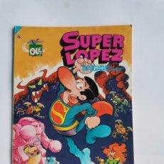 Tebeos: SUPER LÓPEZ AVENTURAS DE SUPERLOPEZ CUARTA EDICIÓN 1986. Lote 293966113
