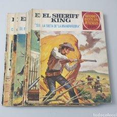 Tebeos: LOTE DE 11 TEBEOS EL SHERIFF KING (BRUGUERA, 1972). Lote 293980168