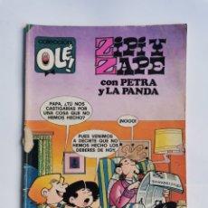 Tebeos: ZIPI Y ZAPE CON PETRA Y LA PANDA. Lote 293995033