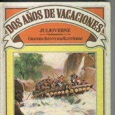 Tebeos: GRANDES AVENTURAS ILUSTRADAS: DOS AÑOS DE VACACIONES. JULIO VERNE. ED. BRUGUERA. FECHA EDICIÓN: 1981. Lote 294031923