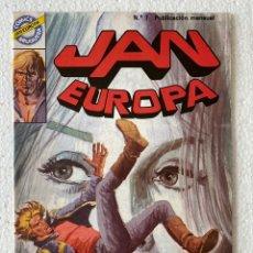 Tebeos: JAN EUROPA #7 - BRUGUERA. Lote 294040143