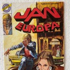 Tebeos: JAN EUROPA #1 - BRUGUERA. Lote 294040483