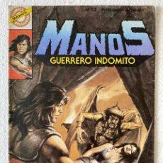 Tebeos: MANOS GUERRERO INDÓMITO #13 - BRUGUERA «MUY RARO». Lote 294041123