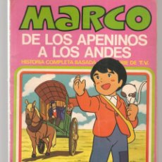 Tebeos: MARCO, DE LOS APENINOS A LOS ANDES. Nº 7. ¿DONDE ESTAS, MAMÁ?. BRUGUERA, 1977. (P/C42). Lote 294044753