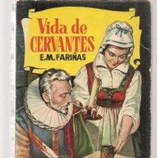 Tebeos: HISTORIAS. Nº 96. VIDA DE CERVANTES. E.M. FARIÑAS. VICENTE ROSSO. BRUGUERA,1ª EDC. 1959. (P/B60). Lote 294377498