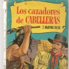 Tebeos: HISTORIAS. Nº 55. LOS CAZADORES DE CABELLERAS. T.MAYNE REID. ¿VICENTE ROSSO?. BRUGUERA, 1ª EDC. 1958. Lote 294380013