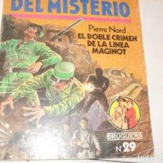 Tebeos: CLUB DEL MISTERIO 29 EL DOBLE CRIMEN DE LA LINEA MAGINOT.EDITORIAL BRUGUERA,AÑO 1981.. Lote 294448808