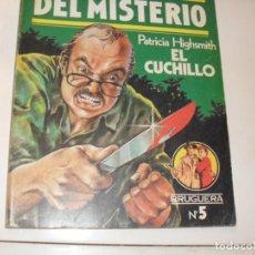 Tebeos: CLUB DEL MISTERIO 5 EL CUCHILLO.EDITORIAL BRUGUERA,AÑO 1981.. Lote 294450948
