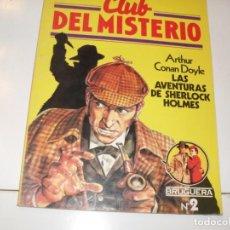Tebeos: CLUB DEL MISTERIO 2 LAS AVENTURAS DE SHERLOCK HOLMES.EDITORIAL BRUGUERA,AÑO 1981.. Lote 294451538