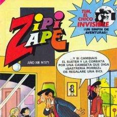 Tebeos: ZIPI Y ZAPE-SEMANAL-BRUGUERA- Nº 571 -TREMENDO TOBI- TREMENDO TOBI-1984-BUENO-DIFÍCIL-LEAN-5680. Lote 294455773