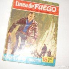 Tebeos: LINEA DE FUEGO 3.EDITORIAL BRUGUERA,AÑO 1976.. Lote 294481358