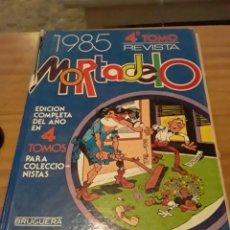 Tebeos: MORTADELO.1985.EDICION COMPLETA EN 4 TOMOS. 4TO TOMOS.BRUGUERA.. Lote 294566943