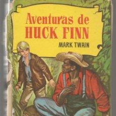 Tebeos: HISTORIAS. Nº 94. AVENTURAS DE HUCK FINN. MARK TWAIN. BRUGUERA, 1ª EDC. 1959. (P/B40). Lote 294832738