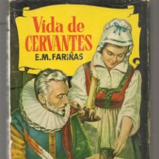 Tebeos: HISTORIAS. Nº 96. VIDA DE CERVANTES. E.M. FARIÑAS. VICENTE ROSSO. BRUGUERA, 2ª EDC. 1964. (P/B40). Lote 294833578