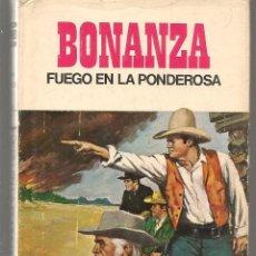Tebeos: HÉROES SELECCIÓN. Nº 4. BONANZA. FUEGO EN LA PONDEROSA. BRUGUERA, 1ª EDC. 1969. (P/B40). Lote 294834013