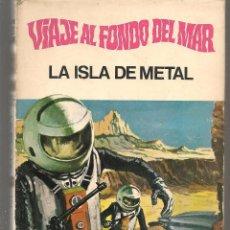 Tebeos: HÉROES SELECCIÓN. Nº 2. VIAJE AL FONDO DEL MAR. LA ISLA DE METAL. BRUGUERA, 1ª EDC. 1969. (P/B40). Lote 294834318