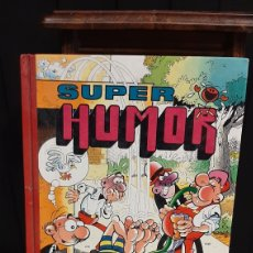 Tebeos: SUPER HUMOR MORTADELO Y FILEMON Y SACARINA VOLUMEN 52 TAPA DURA. Lote 294855163