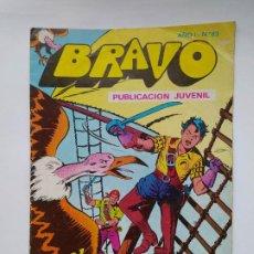 Tebeos: BRAVO Nº 63. EL CACHORRO Nº 32. EN LA BOCA DEL LOBO. BRUGUERA 1976. TDKC46. Lote 294935433