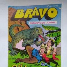 Tebeos: BRAVO Nº 75. AÑO I. EL CACHORRO, Nº 38: EL REY DE LOS AIRES. BRUGUERA. TDKC46. Lote 294939243
