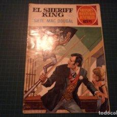 Tebeos: EL SHERIFF KING. N°22. GRANDES AVENTURAS JUVENILES. BRUGUERA. CASTIGADO. (S-D). Lote 294980493