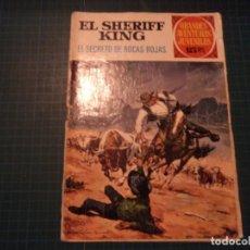 Tebeos: EL SHERIFF KING. N°21. GRANDES AVENTURAS JUVENILES. BRUGUERA. CASTIGADO. (S-D). Lote 294980498