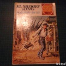 Tebeos: EL SHERIFF KING. N°59. GRANDES AVENTURAS JUVENILES. BRUGUERA. CASTIGADO. (S-D). Lote 294980518