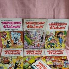 Tebeos: MORTADELO Y FILEMON: LOTE 10 COMICS CLASICOS EN TAPA DURA (1969-1974). Lote 295010498