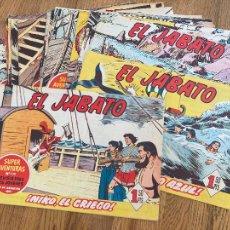 Tebeos: ¡¡LIQUIDACION!! - LOTE (D) 20 EJEMPLARES EL JABATO - DEL 166 AL 185 CONSECUTIVOS - ORIGINAL - GCH. Lote 295024478