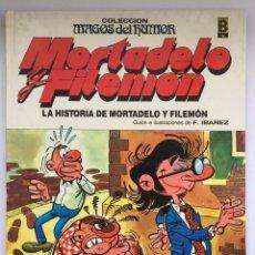 Tebeos: MORTADELO Y FILEMON - LA HISTORIA DE MORTADELO Y FILEMON. Lote 295278828