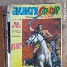 Tebeos: JABATO COLOR (1ª ÉPOCA) - BRUGUERA / COMPLETA (212 NÚMEROS). Lote 295428933
