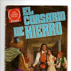 Tebeos: JOYAS LITERARIAS JUVENILES. SERIE ROJA, EL CORSARIO DE HIERRO Nº 53. EL RAPTO DE LA DONCELLA.... Lote 295480968