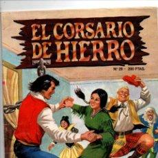 Tebeos: EL CORSARIO DE HIERRO Nº 29. LOS COMANDOS DEL TERROR . EDICION HISTORICA. EDICIONES B, 1988. Lote 295482958
